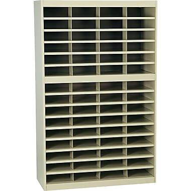 Safco E-Z Stor® Steel Sorter, 60-Compartment, Tropic Sand, 60