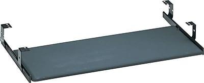 Bush Business Furniture Universal Keyboard Shelf, Black textured vinyl (AC99808-03)