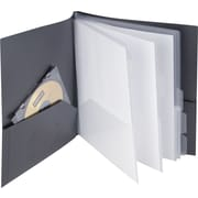 Staples Textured 10 Pocket Presentation Book (20642-CC/13682)