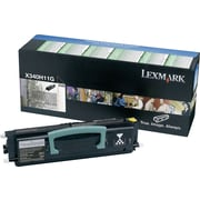 Lexmark (X340H11G) Black Toner Cartridge, High Yield, Return Program