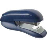 Staples Flat Stack Half Strip Stapler, 30-Sheet Capacity, Blue (73086)