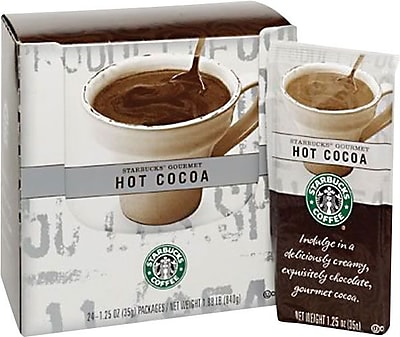 Starbucks Gourmet Hot Cocoa, 1.25 oz., 24 Packets 563750