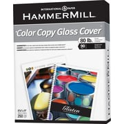 "HammerMill® Color Copy Gloss Cover, 8 1/2"" x 11"""
