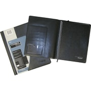 Cambridge® Limited Business Notebook Systems, Black Leather-Like