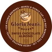Keurig® K-Cup® Gloria Jean's® Swiss Chocolate Almond Coffee, Regular, 24/Pack