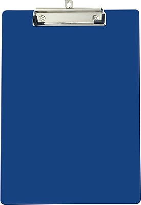 OIC® Recycled Clipboard, Letter Size, Blue