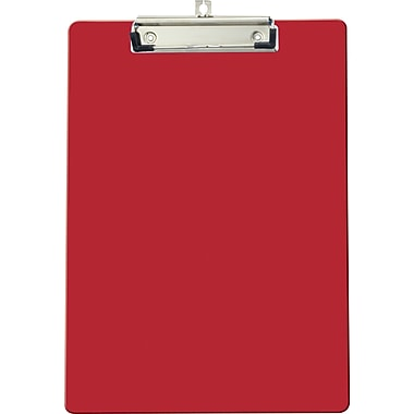 OIC® Recycled Clipboard, Letter Size, Red