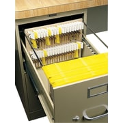 "MMF Industries™ File Drawer Key Rack, Sand, 40 Key Capacity, 10"" x 12"" x 1 3/4"""