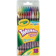 Crayola® Twistables® Colored Pencils, 18/Pack