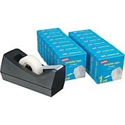 Staples® Value Pack w/ 16 rolls of tape and Dispenser