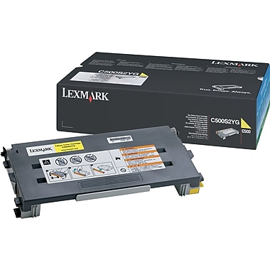 Lexmark C500S2YG Yellow Toner Cartridge (C500S2YG)