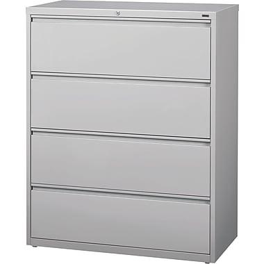 Hirsh - Classeurs latéraux de série HL10000, 4 tiroirs