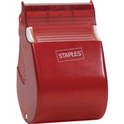 Staples Fast Touch Packaging Tape with Dispenser, 2.6-mil