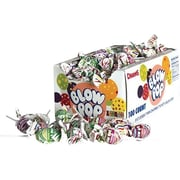 Charms Blow Pop Lollipops, Variety, 65 Oz., 100/Box (3869)