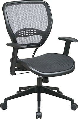 Office Star SPACE® Air Grid™ Deluxe Mesh Manager's Chair, Seat: 20 1/2