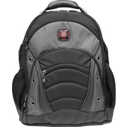 SwissGear® Synergy Laptop Backpack, Black/Grey, 15.6""