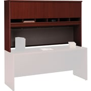 Bush Business Furniture Westfield 72W 4 Door Hutch, Mahogany (WC36777K)