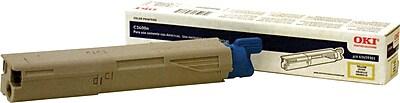 Okidata 43459301 Yellow Toner Cartridge, High Yield
