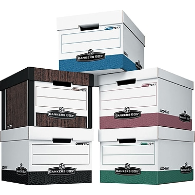 Bankers Box Maximum-Strength R-Kive® Storage Boxes, Letter/Legal Size