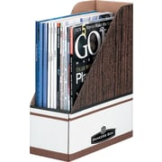 BANKERS BOX® Extra Strength Magazine File Holder, Letter Size, Each
