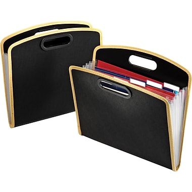 Globe-Weis® 7-Pocket Poly Totefolio, Each