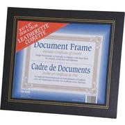 """Nu-Dell Leatherette Frame, Black, 8 1/2"""" x 11"""""""