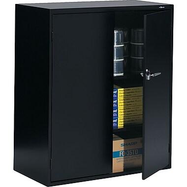 ProSource - Armoire de rangement verrouillable en acier, 42 po, noir