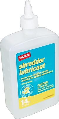 Staples® Shredder Oil, 14 oz.