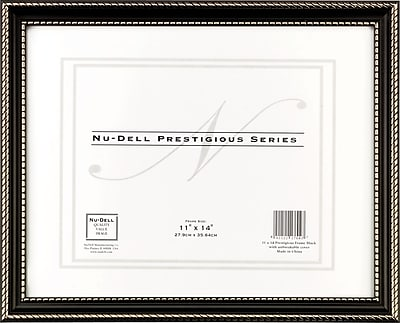Nu-Dell Executive Frame, Black