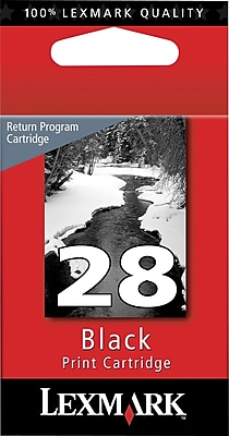 Lexmark 28 Black Return Program Ink Cartridge (18C1428)
