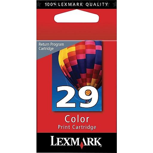 lexmark 29 color return program ink cartridge 18c1429 staples. Black Bedroom Furniture Sets. Home Design Ideas