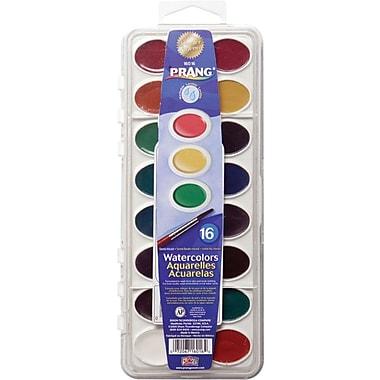 Prang® Washable Watercolors, 16-Color Set