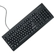 Kensington® Keyboard for Life Spill-Safe Keyboard, Black