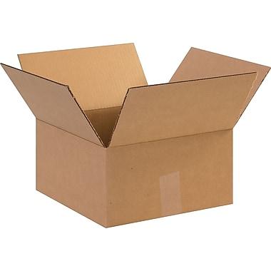 Staples – Boîte d'expédition en carton ondulé 12 x 12 x 6 po, lot/25 (PRA0060)