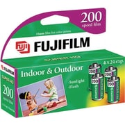 Fujifilm Super HQ 200 35mm Film, 4/Pack
