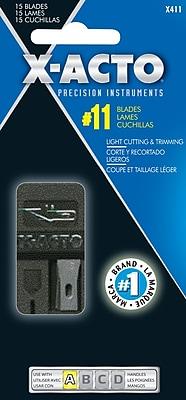 X-Acto™ Knife Blade Dispenser, #11 Blades, 15/Pack