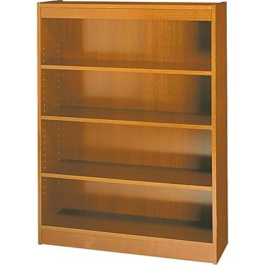 Safco Workspace 36'' 4-Shelf Bookcase, Oak (1503MOC)