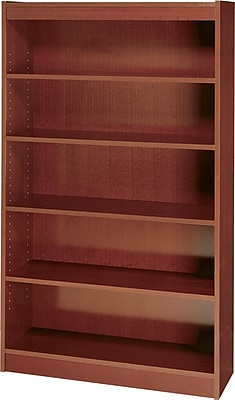Safco Workspace 36'' 5-Shelf Bookcase, Mahogany (1504MHC)