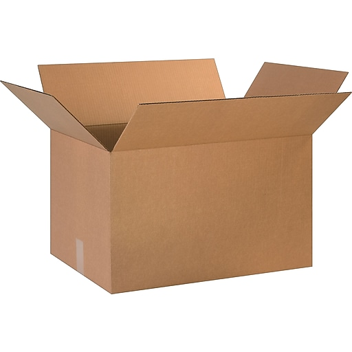 "24"" x 16"" x 14"" Shipping Boxes, 32 ECT, Brown, 20/Bundle (BS241614)"