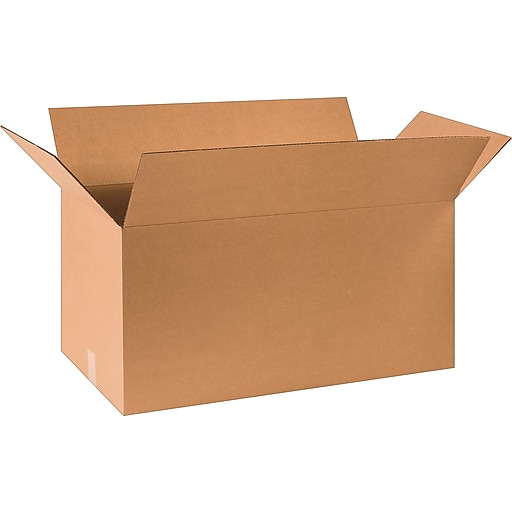 """30"""" x 15"""" x 15"""" Shipping Boxes, 32 ECT, Brown, 20/Bundle (BS301515)"""