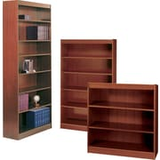 Safco® Workspace Square Edge Veneer Bookcases