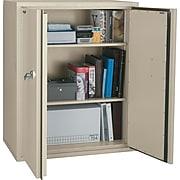 "FireKing 1 Hour Fire Resistant Storage Cabinet, 3-Shelf, Parchment, 19 1/4""D, Inside Delivery"