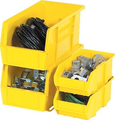 Staples® Plastic Stackable Bin Boxes, 16-1/2