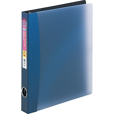 Avery Easy-Access 1-Inch Round 3-Ring Binder, Dark Blue (15809)