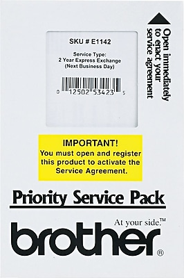 Brother 2 Year Exchange Warranty