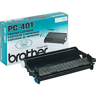 Brother PC-401 Black Ink Cartridge