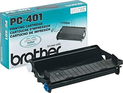 Brother Genuine PC401 Original Thermal Fax Cartridge
