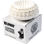 Bunn® Flat Bottom Commercial Coffee Filters, 12-Cup, 250/PK
