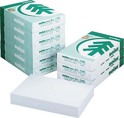 Boise ASPEN 30 Multi-Use Recycled Paper, 8 1/2 x 14, White, 5000/Carton (054904)