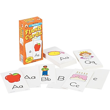 Carson-Dellosa Publishing Flash Cards for Grades K-6, 80/pack (CD-3907)